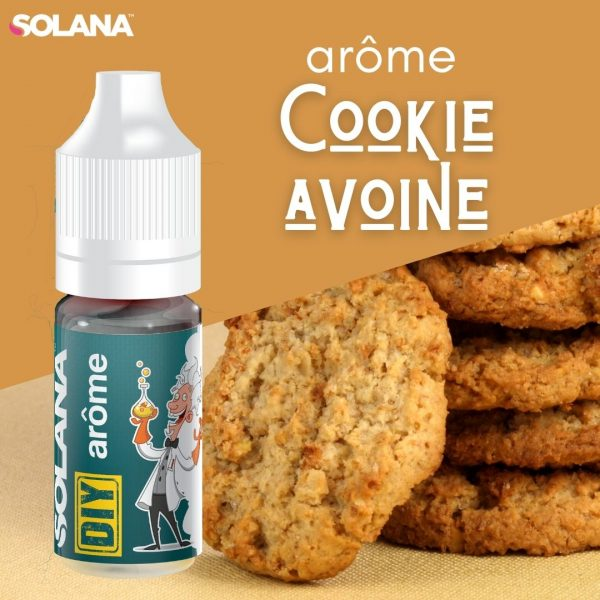 DIY E-liquide arôme COOKIE AVOINE