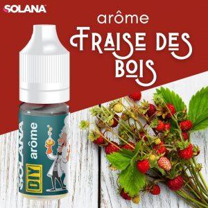 Arômes pour e-liquides acidulé FRAISE DES BOIS