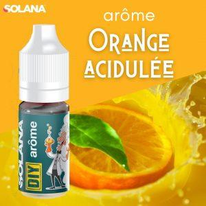 Arômes pour e-liquides acidulé ORANGE ACIDULEE