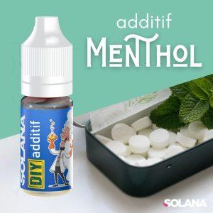 Additifs pour e-liquides fraicheur MENTHOL
