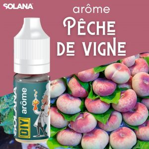 Arômes pour e-liquides arôme PECHE DE VIGNE