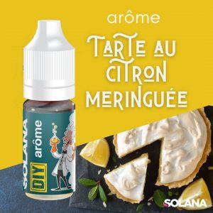 DIY E-liquide agrume TARTE CITRON MERINGUE