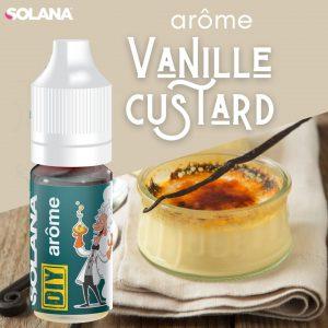 DIY E-liquide biscuit VANILLE CUSTARD