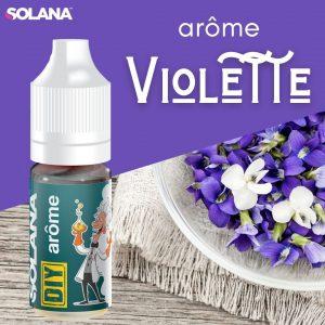 DIY E-liquide floral VIOLETTE