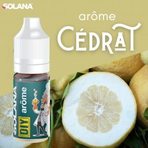 Arômes pour e-liquides acidulé Cédrat