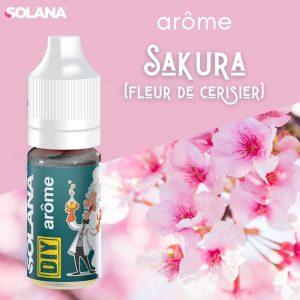 Arômes pour e-liquides floral Sakura